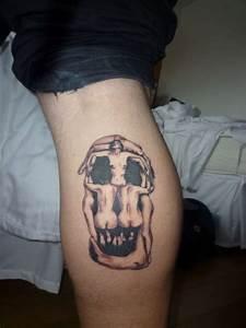 Dali Skull tattoo
