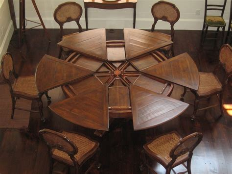 high top dining room table with leaf the great expanding round dining table homesfeed