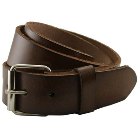 Cowhide Leather Belt by Seris 100 Leather Cowhide Roller Belt Brown 1 5 Quot Wide