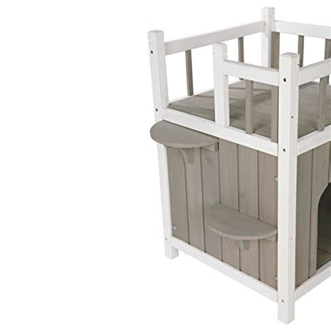 trixie pet products wooden outdoor cat home new ebay