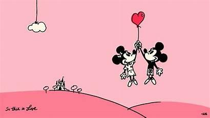 Disney Wallpapers Desktop Backgrounds Computer Parks Valentines