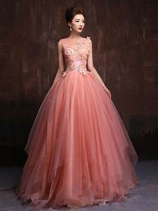 Whimsical Modest Blush Pink Fairy Tale from JoJo Dress
