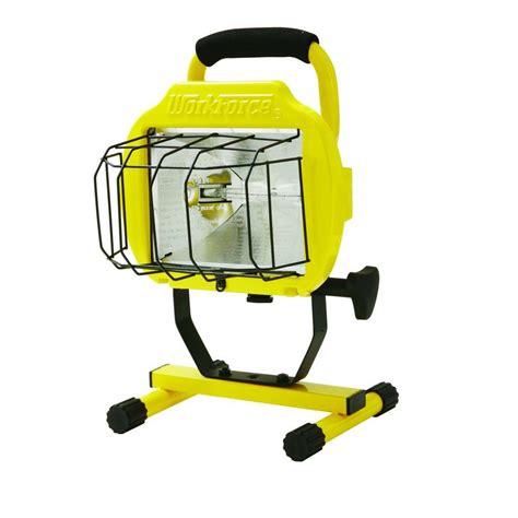 portable halogen work light hdx 500 watt halogen portable work light 509 953 the