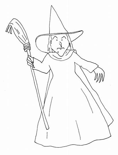 Wicked Witch Colorare Da Disegni Digi Stamps