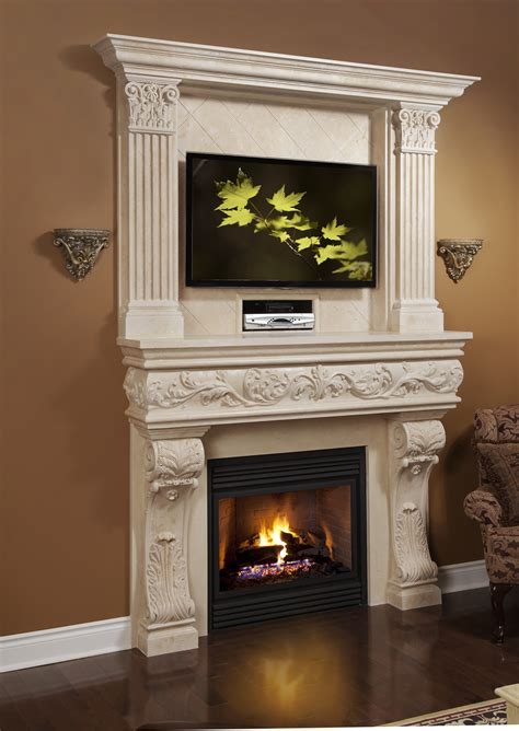 top trends  fireplace mantels