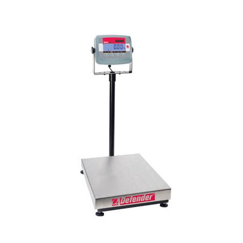 Ohaus D31p60bl Defender 3000 Bench Scale, Capacity 60kg