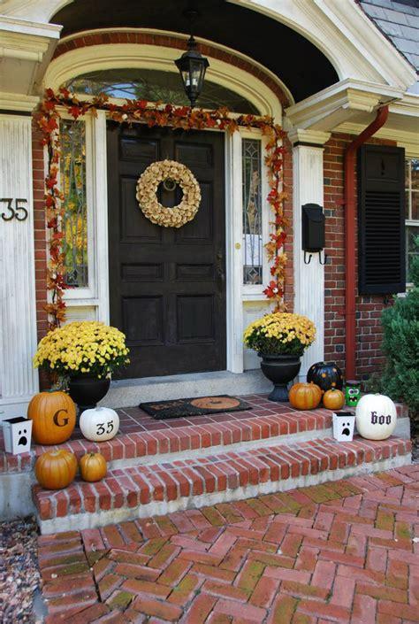 front doors outdoor halloween decorations decoration love