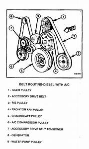 Dodge 2006 Ram 2500 Belt Diagrams