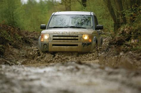 Wading Land Rover Wallpaper by Road Driving Country House Hotel Scotland
