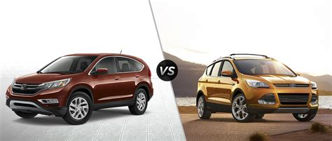 2016 Honda Cr-v Vs 2017 Ford Escape
