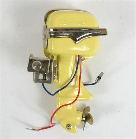 Japanese Outboard Boat Motors by Lang Craft Electric Outboard Boat Motor Vintage