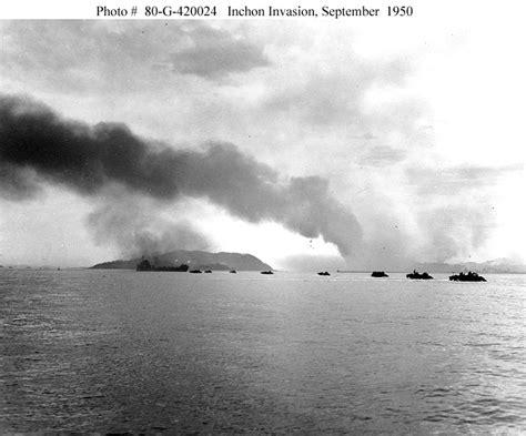 korean war  inchon invasion september