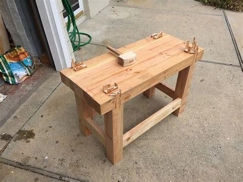 junior roubo workbench  tpmwoodworker  lumberjocks