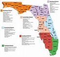 Map of Florida Counties – Film In Florida