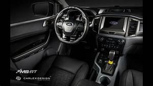 Ford Ranger Interieur : custom ford ranger can go off road in style with posh interior ~ Medecine-chirurgie-esthetiques.com Avis de Voitures