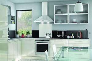 Facade De Cuisine Brico Depot : cuisine blanche 13 photos de cuisinistes c t maison ~ Melissatoandfro.com Idées de Décoration