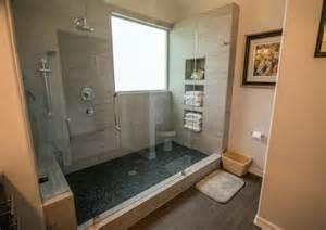 rustic bath tile bathroom design ideas pictures remodel decor rustic remodels bathroom tile - River Rock Bathroom Ideas