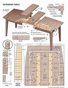 Dining Table Plan - Dining room ideas