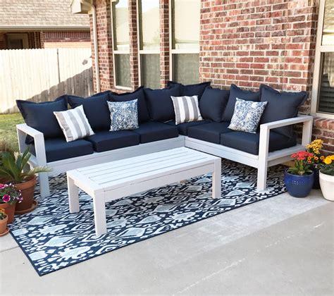 outdoor sofa ana white