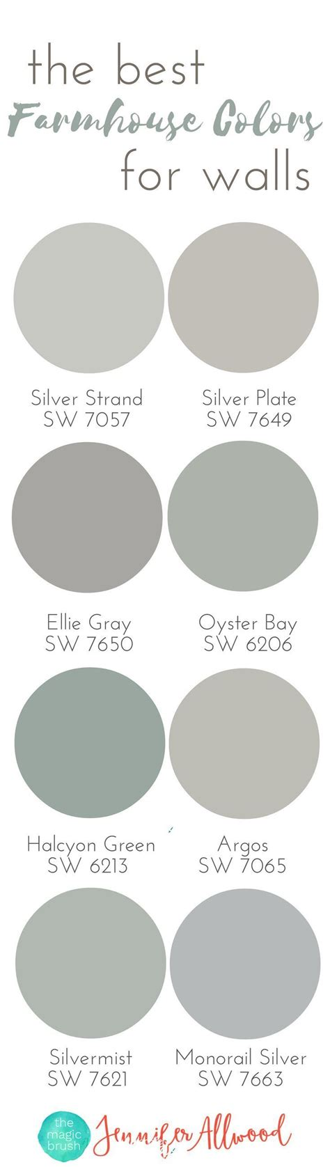 the best farmhouse paint colors for walls magic brush