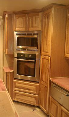 hand crafted hickory kitchen custom cabinets  top quality cabinets custommadecom