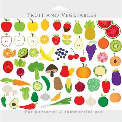 Fruit Vegetable Clipart Vegetables Clip Apple Slices