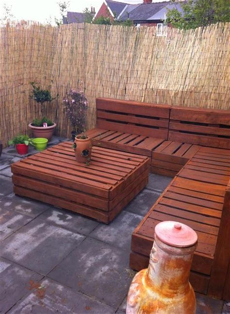 Wonderful Wood Pallet Outdoor Furniture Ideas   Quiet Corner