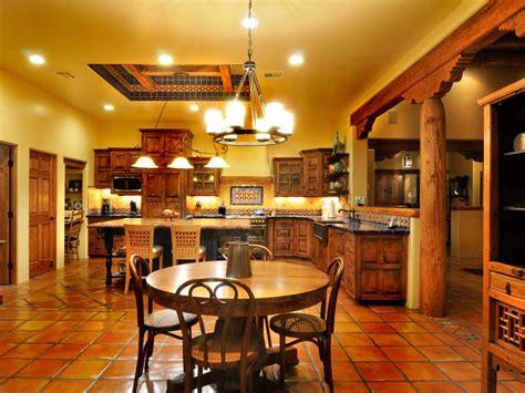 spanish style tile kitchen hgtv