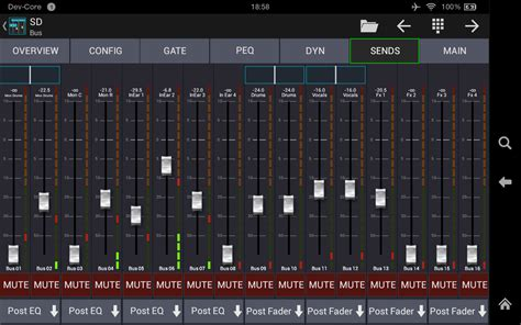 mixer for android mixing station xm32 pro android apps auf play