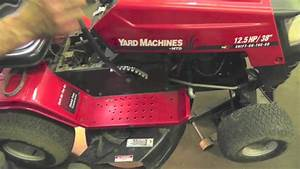Yardman 46 Inch Riding Mower Belt Diagram