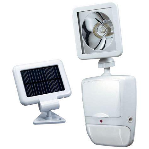 solar powered led security lights heath zenith 180 degree white motion sensing solar powered
