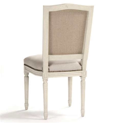 burlap dining chairs pair benoit country linen burlap antique ivory 1877