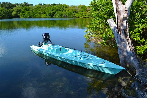 Skiff Kayak Launch by Fishing Kayak Skiff