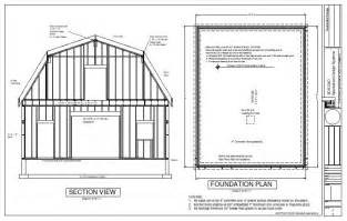 free 10x12 gambrel shed plans storage plan shed