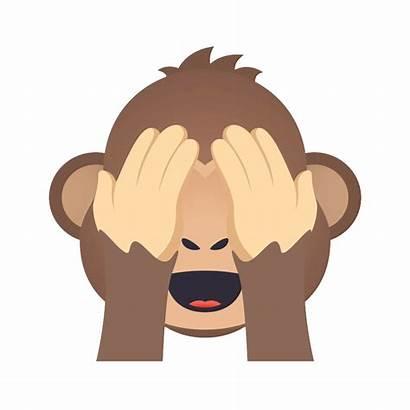 Emoji Animations Monkey Presenting Evil License Premium