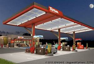 Station Lavage Total : animation et rendus 3d de station service total 3d weave ~ Carolinahurricanesstore.com Idées de Décoration