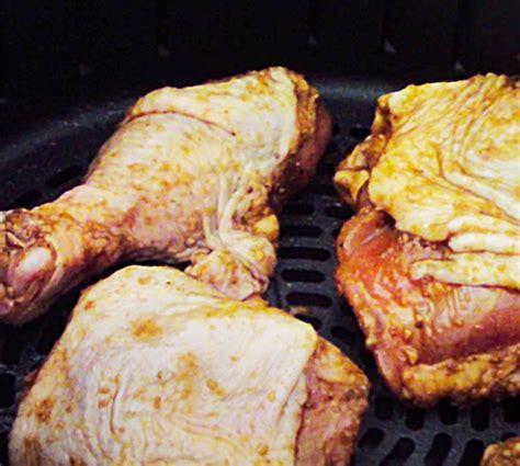 bbq chicken fryer air legs thighs recipe