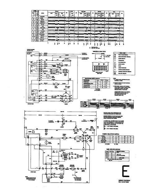 wiring diagram diagram parts list for model 41790807990
