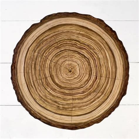 wood slice paper placemat hester cook