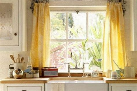 What A Difference Kitchen Curtains Make