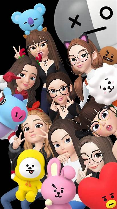 Bts Anime Wallpapers Easy Cool Cartoon Iphone