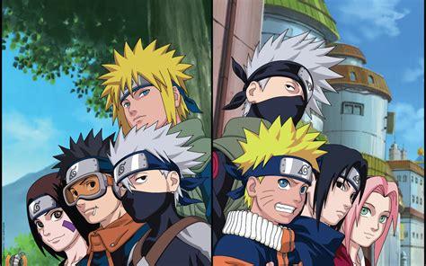 Download 2560x1600 Naruto, Hatake Kakashi, Namikaze Minato