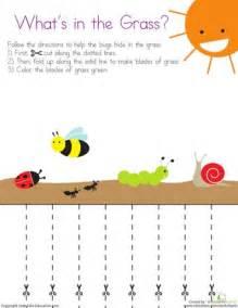 Free Printable Cutting Worksheets Preschool