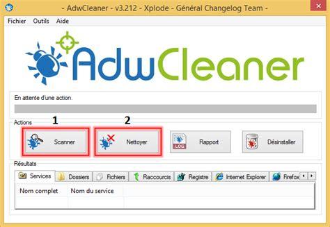 comment installer adwcleaner sur le bureau infection ordinateur et problème de connexion