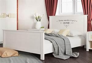 Otto Home Affaire Bett : home affaire bett sonya mit dekorativem schriftzug online kaufen otto ~ Bigdaddyawards.com Haus und Dekorationen
