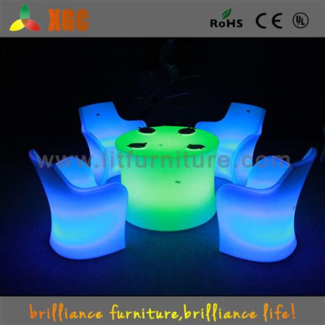 modern led buffet table  chair setsplastic light