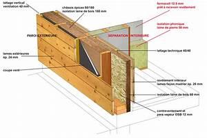 Epaisseur Mur Ossature Bois : ossature bois lombois sa ~ Melissatoandfro.com Idées de Décoration