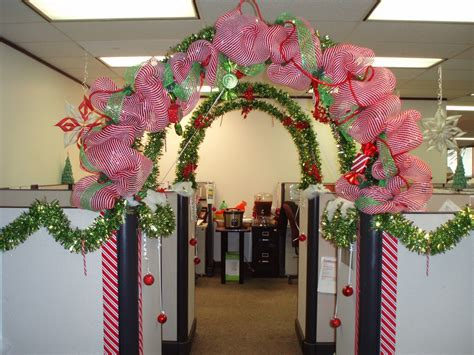 holiday cubicle contest cubicle office cubicles and