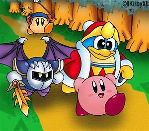 The gallery for --> Kirby Meta Knight And King Dedede