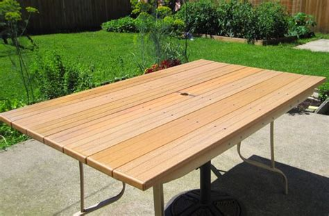 diy patio table top replacement woodworking projects plans
